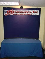 Six Foot Table Top Display with Free Header